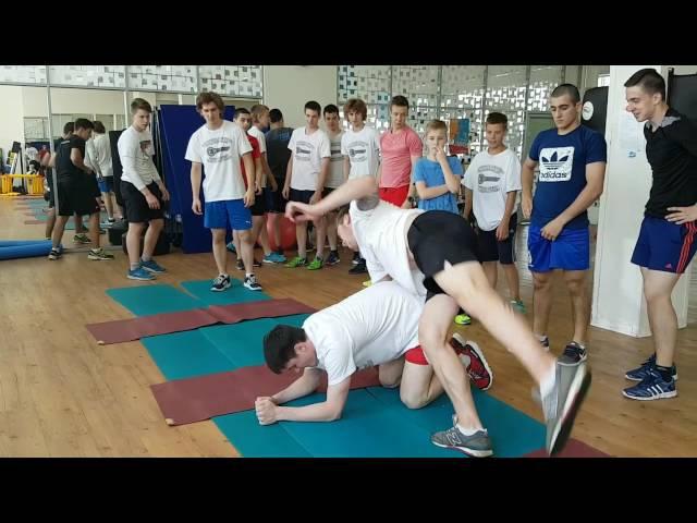 KHL Nikolai Pronin KeySport.ru OFF ICE 2016 Fintess Club Smena