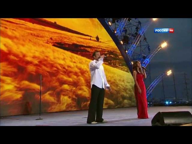 Зара и Дмитрий Певцов - Ах ты, степь широкая/ Дле яман
