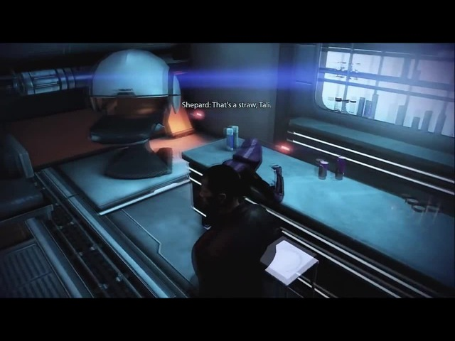 Mass Effect 3 - Emergency Induction Port (Tali's Drunkeness) coub