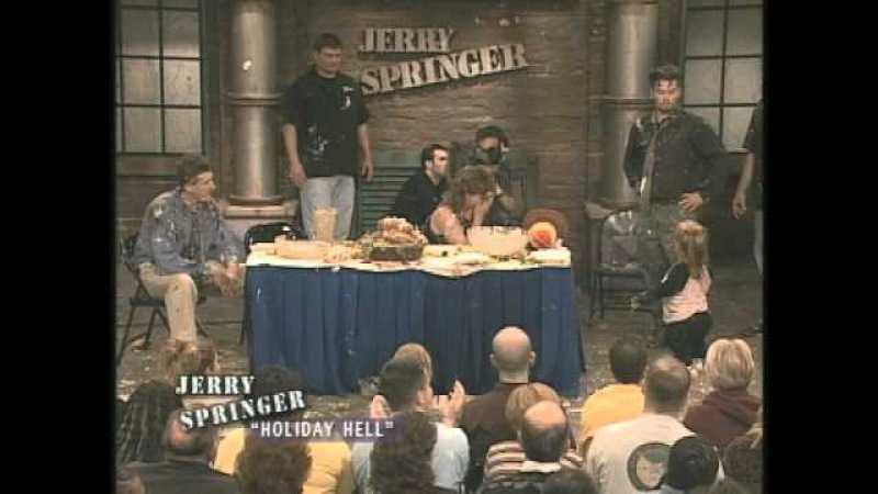 Best Food Fights! 20 Years of The Jerry Springer Show
