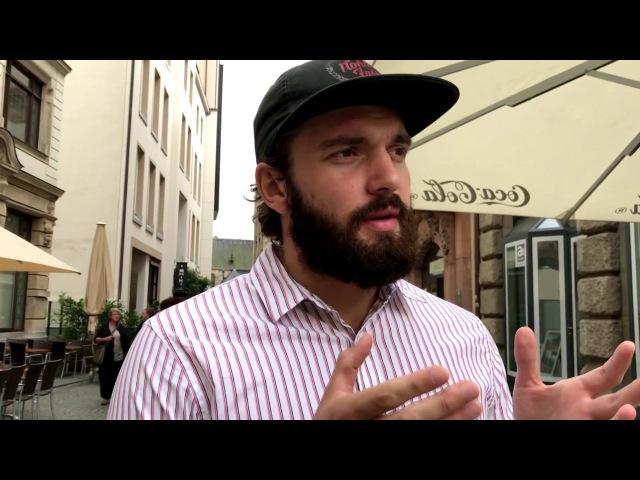 Anton SKALD разъясняет за Москву и Питер! Лейпциг - это беднейший город, с чем вы сравн ...