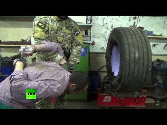 Видео задержания выходцев из Центральной Азии по подозрению в подготовке терак ...