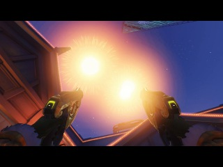 Overwatch: Lijiang Tower new fireworks map interactions [Year of the Rooster New Years event]
