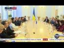 Спикер ВРУ Андрей Парубий встретился с еврокомиссаром Йоханнесом Ханом, 15.11.2017