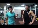В ТОП СПОРТ Тренировка плечей и бицепса с Артемом Бехтгольд и Романом Веретени