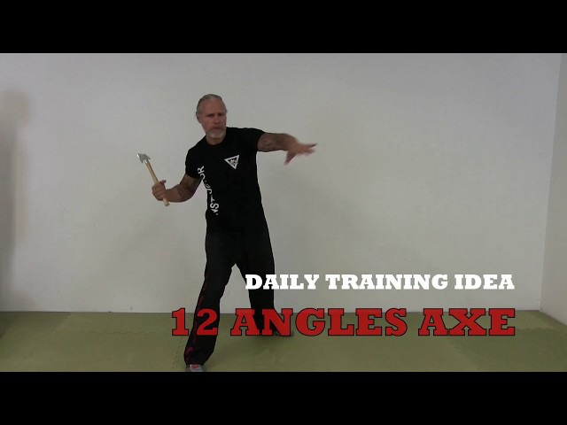 SAMI Combat Systems daily training idea Exercise 72 Axe Tomahawk Figting Concept 12 angles