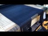 JQ 1390 с транспортером для ткани