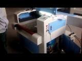 Лазерный гравер JQ 6040 с конвейером для рулонов