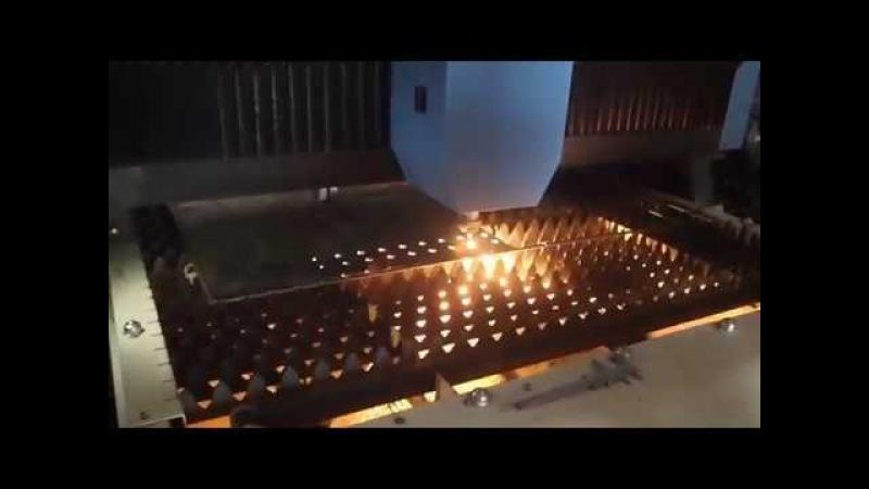 Волоконный лазер JQ 1530 500W черная сталь 3мм