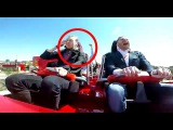 Pigeon attack in rollercoaster Red Force, Ferrari Land (PortAventura)