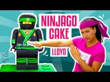 Торт Ниндзяго 3Д.  LLOYD From The NEW LEGO NINJAGO MOVIE Out Of CAKE