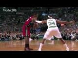 Throwback Lebron James Full Highlights at Celtics 2012 ECF Game 6 45 Pts, 15 Rebs,Epic!