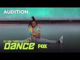 Sade Austin Impresses The Judges With Her Moves