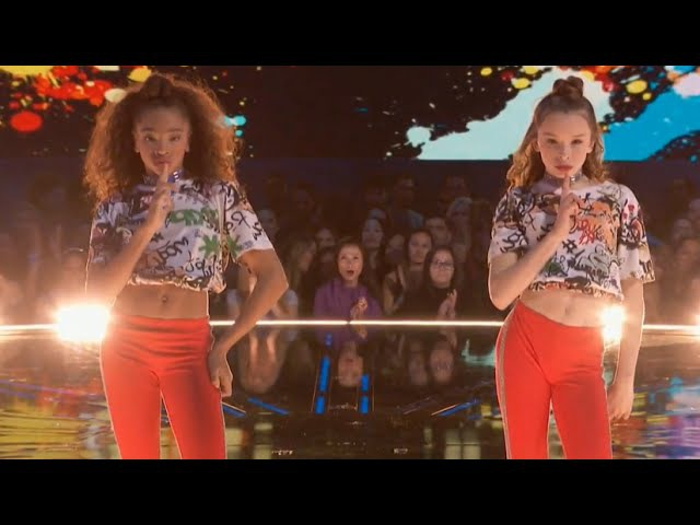 KynTay dance battle performance on world of dance nbc Taylor Hatala Kyndall Harris