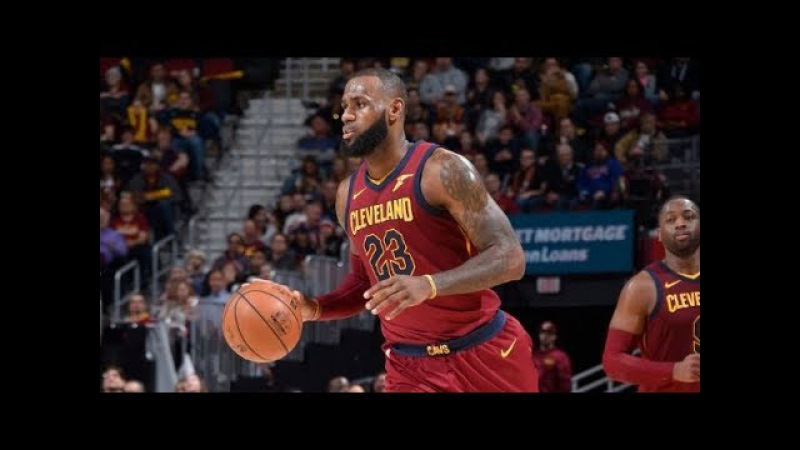 LeBron James Scores 18 Straight Points in the 4th Quarter November 22 2017 NBANews NBA Cavaliers LeBronJames