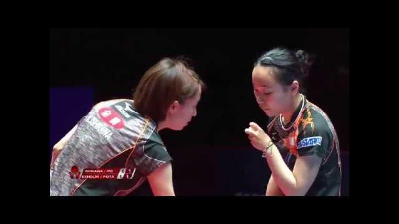 ISHIKAWA Kasumi ITO Mima vs EKHOLM Matilda POTA Georgina | WD Final | Bulgaria Open 2017
