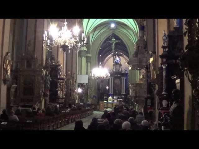 Ach, mój Jezu, jak Ty klęczysz. Katedra Frombork.