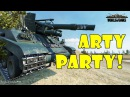 World of Tanks Funny Moments ARTY PARTY 43