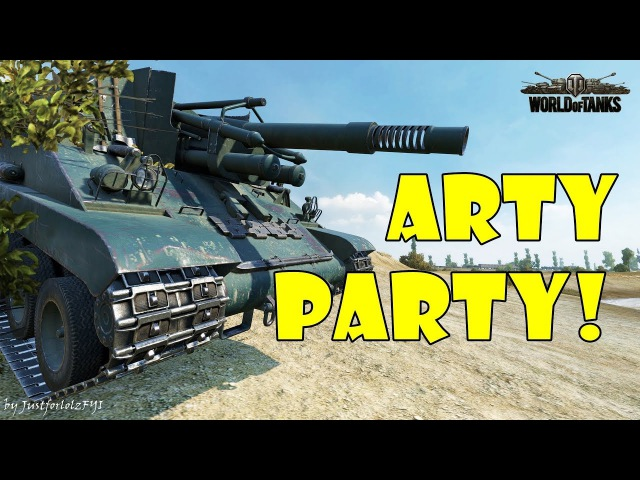 World of Tanks - Funny Moments | ARTY PARTY! 43