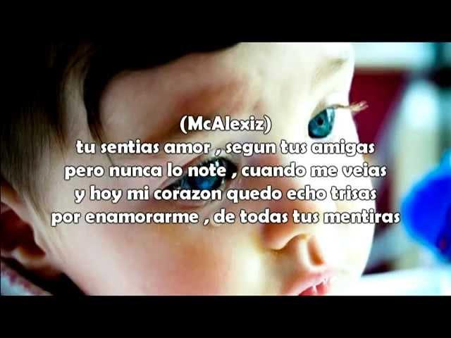 Me Canse De Iluciones - McAlexiz Ft C'Kosber - Rap Romantico