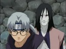 Орочимару и Кабуто против Тсунаде, Джирайи и Наруто