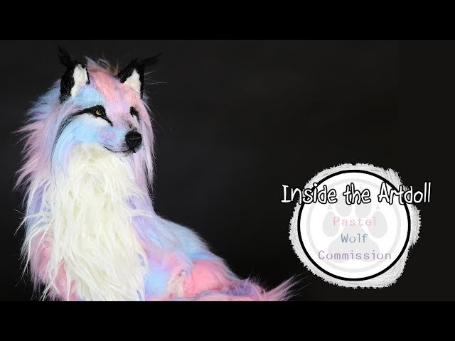 Pastel Wolf Commission - Art Doll Tutorial