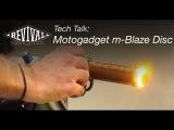 Motogadget m-Blaze Disc Turn Signals - Revival Cycles Tech Talk
