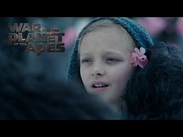 War for the Planet of the Apes   Meeting Nova   20th Century FOX