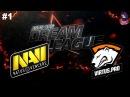 NaVi vs VP RU #1 (bo2) DreamLeague Season 8 Major 15.11.2017
