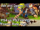 Jak and Daxter PS4 vs PS3 vs PS Vita Frame Rate Test
