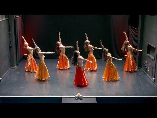 Classical Belly Dance to El Naseem by Fleur Estelle Dance Company