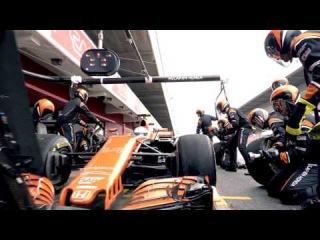 Mannequin Challenge | McLaren-Honda pit stop action | Honda Racing F1