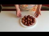 Как Покрасить Яйца на Пасху))) Очень легкий и простой способ)) The Decoration of Easter Eggs