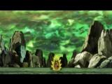 Goku vs Caulifla &amp Kale, Goku shows Super Saiyan 3! Dragon Ball Super Ep.113