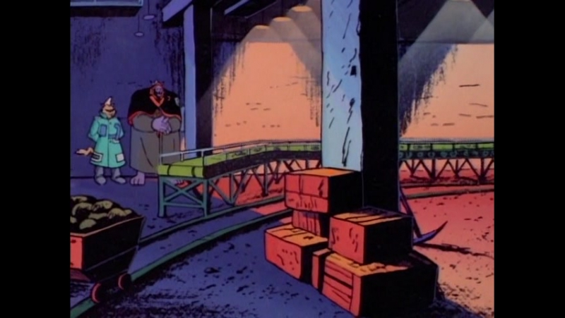 Коты быстрого реагирования. Серия 7: Ночь кота тьмы (1993)