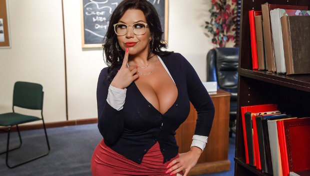 Brazzers - Our College Librarian
