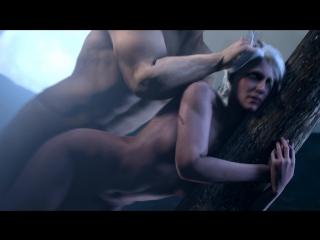 Ciris Porno The Witcher 3 #Порно мультик Ведьмак 3D Oral Cumshot Facial #porno #sex #blowjob