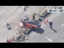 В Японии на соревнованиях по дрифту автомобиль врезался в толпу зрителей