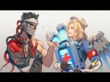 Overwatch - Competitive. Соревновательные #1 Калибровка на втором аккаунте