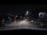 Поездка по ночному гетто району в городе Детройт (VHS Video)