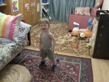 Сеня танцует под F.P.G.
