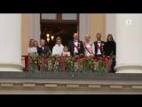 Норвежский принц на церемонии