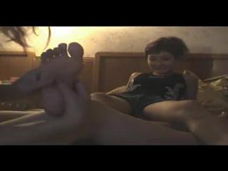 Hotel room tickling