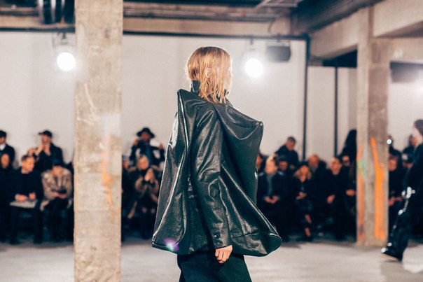 Check out a Front Row View of the Rick Owens 2017 Fall/Winter Presenta