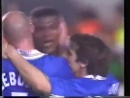 Marcel Desailly scored his 1st Chelsea goal