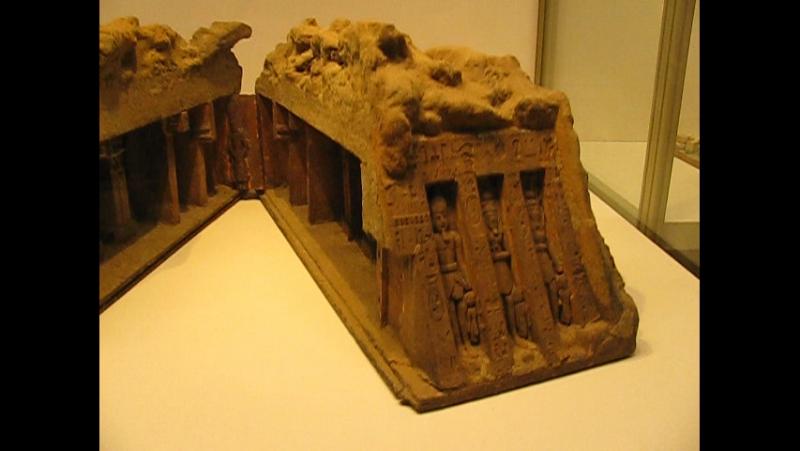 Модель храма Нефертари в Абу Симбеле
