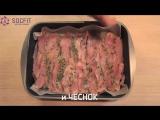 Рацион питания на день. Гречка с фасолью. Салат. Запеченная курица. (1)