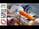 Крутая самоделка Tокарный станок из фанеры своими руками часть 2