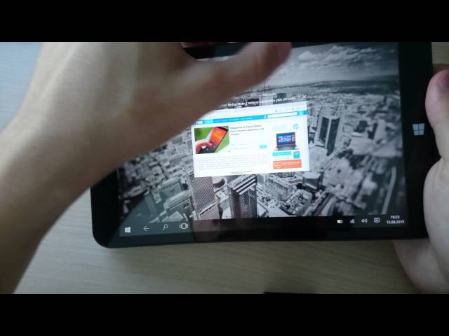 Обзор Prestigio MULTIPAD Visconte Quad 3G (WINDOWS 10) Cамый дешёвый планшет на windows 10