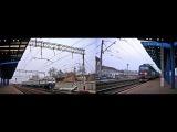 ДР1 Хмельницкий - Винница и ЧС4 Киев-Рахов прибывают в Винницу